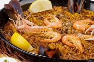 Paella-Mariscos