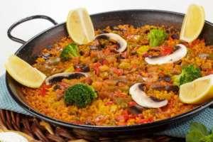 Paella-Vegetariana