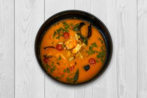 Supă de pește și fructe de mare (2 pers.)